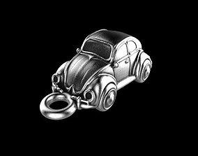 Car charm 3D print model coche
