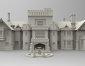X-mansion - High poly 3D model