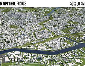 Nantes France 3D model