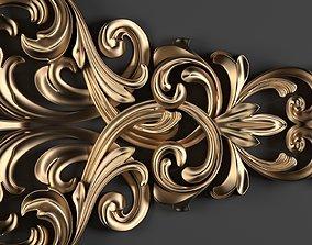 3D Decorative Floral Ornament-01