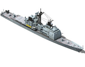 Future World - Cruiser 02 3D model