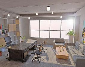 office 3D model Office interior