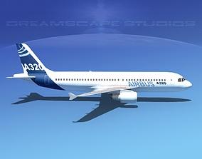A320 LP Airbus 2 3D asset
