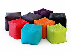 3D Pouf Jumbo Bag Cube