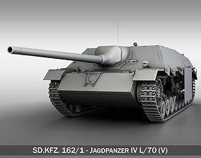 3D model Jagdpanzer IV L70V tank