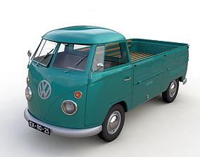VOLKSWAGEN TRANSPORTER PICKUP SINGLE CAB - 1962 3D