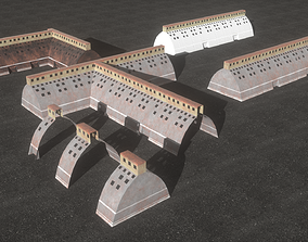 3D model Hall industrial