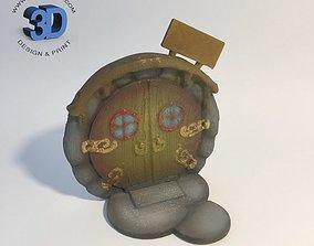 3D printable model Round Fairy Door