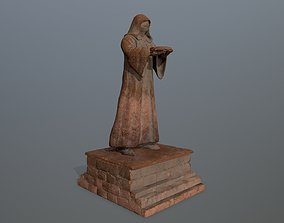 3D asset statue set