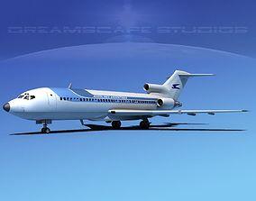 Boeing 727-100 Aerolineas Argentinas 2 3D model