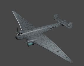 JUNKERS Ju86 R-1 Germanys U2 High Flying Spy Plane 3D