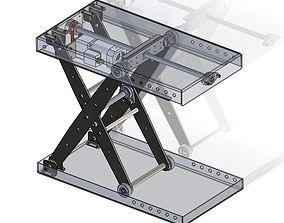 3D model Scissor lift electric scissor lift
