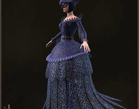 3D model Spades Queen Light Version