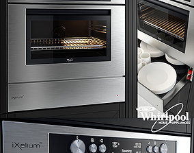Steam Oven and Warming Drawer - by Whirlpool - 3D model