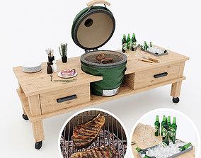 3D Kamado grill 2