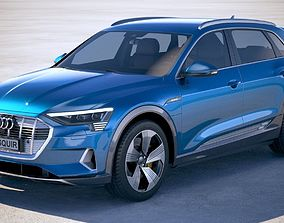 3D model Audi e-tron 2020 regular mirror