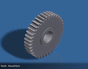 3D printable model 36-Tooth Spur Gear 03 print