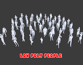 50 Low Poly People Collection Pack 3 3D asset