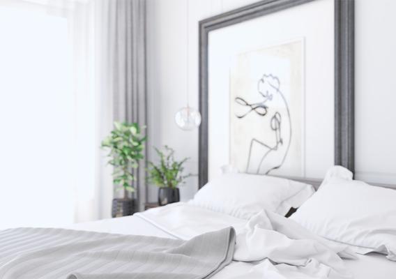 Cosy bedroom design