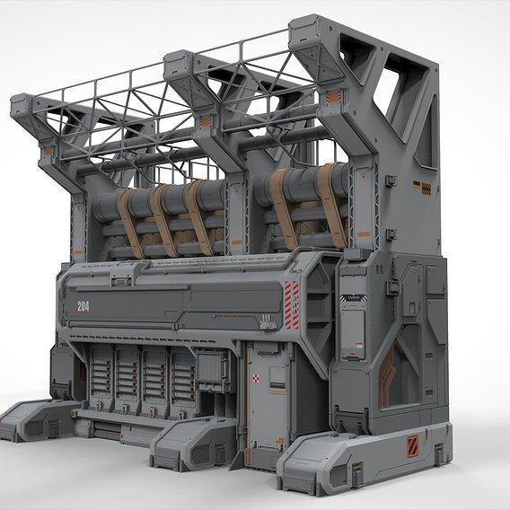 Sci Fi Modular Environment 3