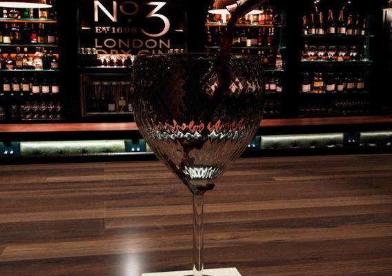 English Pub Drinking Wine
