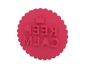 3D printable model Cookie stamp - Stamp house