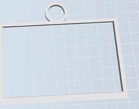 3D Lithopane Frame with hanger