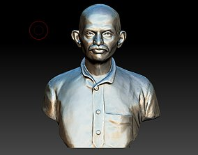 Young Gandhi 3DP figure