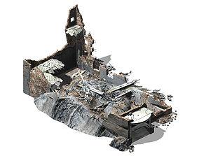 3D model Future World - Ruins 06