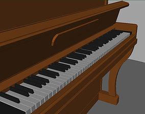 Upright Piano Belarus musical 3D model
