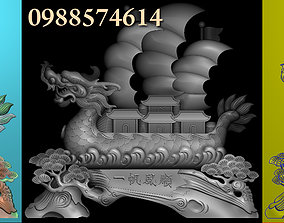 Dragon bost 3D model