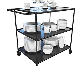 3D model Table for dishes