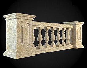 Baluster 3D model render