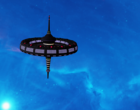 Orbital station Mark II 3D