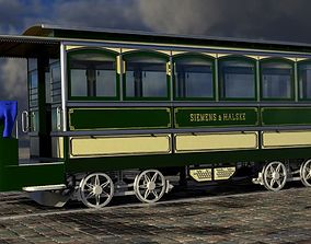 Old tram Siemens and Halske 3D