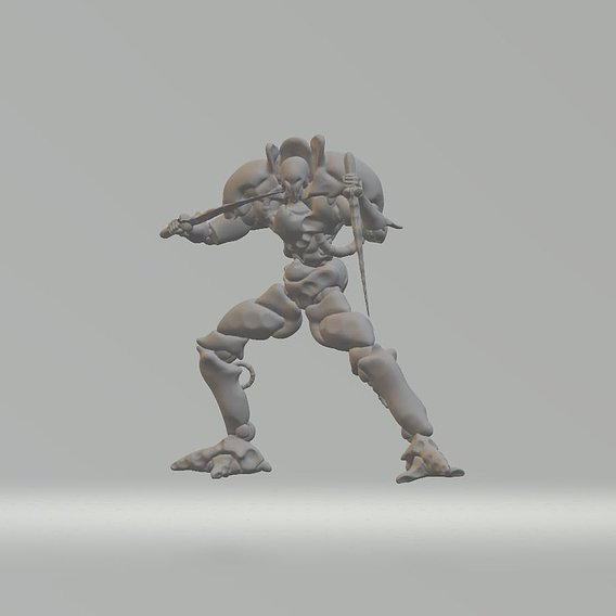 Godhammer Heavy Gear Printable Models - Blades showcase