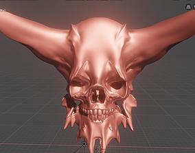 model Devil Skull 3D model