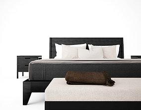 sleep Bedroom Set 3D model