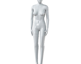 3D model Faceless woman mannequin 26