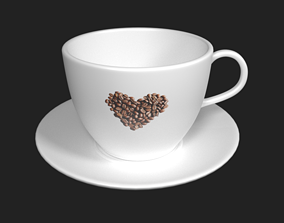 Coffee Cup dining-room-houseware 3D