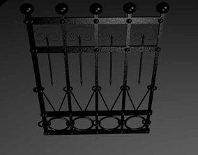 Fence 3D model realtime