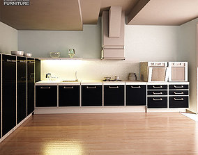 Kitchen Set I2 3D model