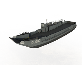 3D asset LCU-1610 Series Landing Craft