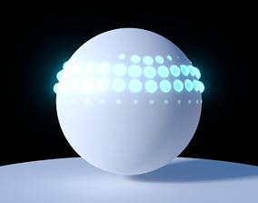 Sphere wave effect 3D