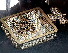 3D printable model CC perfume Pendant