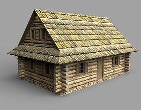 Log house 3D