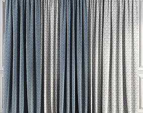 Curtain Set 75 3D model
