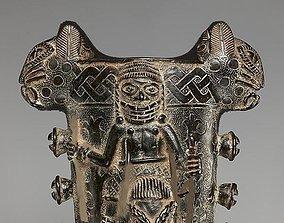3D model Antique Old African Culture