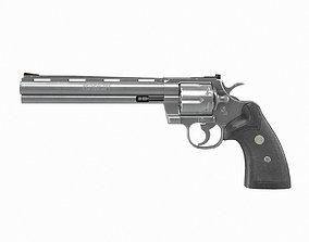 Colt Python 8 inch 3D asset