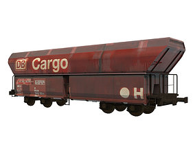 3D model Train Hopper Collection